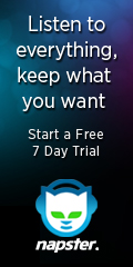7-day Free trial of Napster!