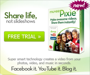 Make awesome videos using muvee Pixie