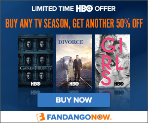 FandangoNOW - Buy one HBO TV season get the second 50% off
