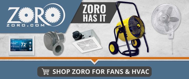 Shop Zoro.com for Fans & HVAC Supplies
