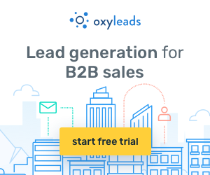 Lead generation for B2B sales