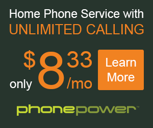 Domestic or International phone service!