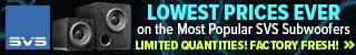 SVS Black Friday Subwoofer Deal! Lowest Prices Ever on Legendary SVS 2000 Series Subwoofers. Extreme