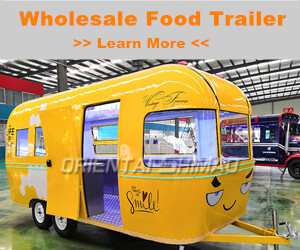 Wholesale Food Trailer