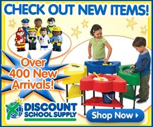 400 NEW PRODUCTS At Discount School Supply