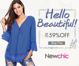 Newchic female fashion coupons,clothing promo codes