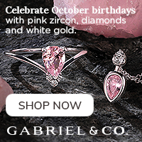 Celebrate October Birthdays Birthstone Fine Jewelry Banner 200 x 200