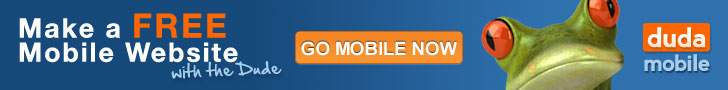 Make a Free Mobile Website with DudaMobile
