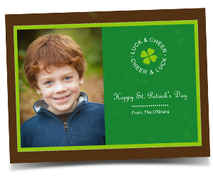 St. Patrick's Day greeting from Smilebox.