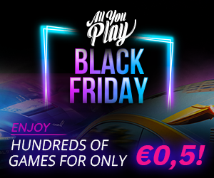 Hundreds of games for only 0.50€