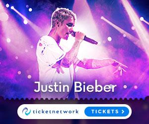 Get your Justin Bieber Ticket now!