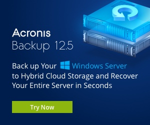 Image for Acronis Backup for Windows Server