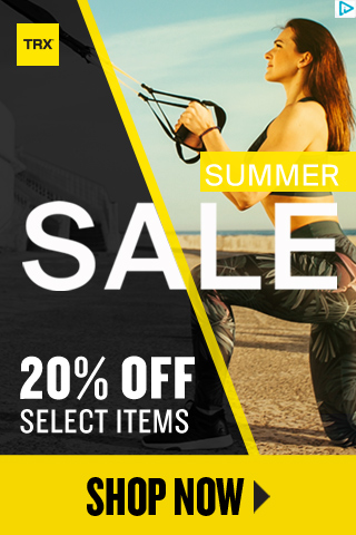 TRX SUMMER SALE! 20% OFF Select Items + FREE Shipping on Orders $99+!