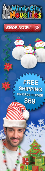 120% Lowest Price Guarantee + FREE Shipping w $69 order for all Holiday Party Decorations & Supplies