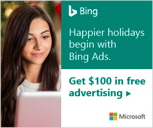 Bing ads $100 Coupons