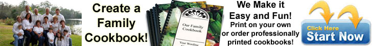 Create a family cookbook