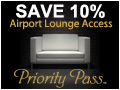 Save 20% and Access 600 airport lounges