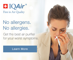 For people who suffer allergies - IQAir.com