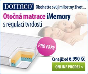 otočná matrace dormeo i memory