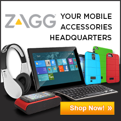 Zagg Accessories for iOS, iPad, iPhone