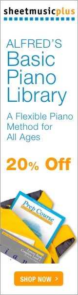 Alfred's Basic Piano Library - 20% off