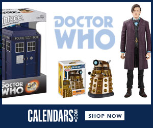 Shop Doctor Who at Calendars.com Now!