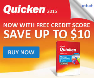 Quicken 2015 Money Management - $10 Off_300x250