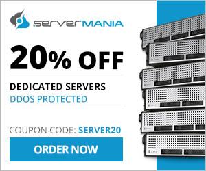 20% Off ServerMania Promo Code