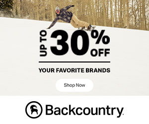 Save 30% Off Select Styles from Patagonia, Flylow, Mammut, and Backcountry Access