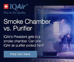 IQAir Smoke Chamber