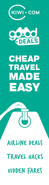 Cheap travel deals at Kiwi