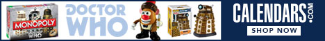 Shop Doctor Who at Calendars.com Now!