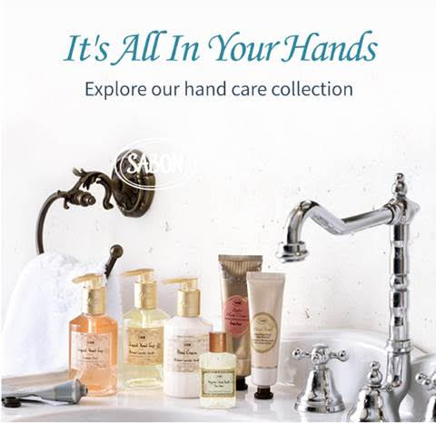 It's All In Your Hands! Explore Sabon's Hand Care Collection!