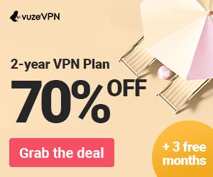 2 years plan VuzeVPN