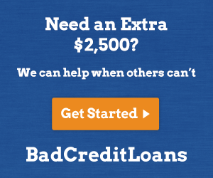 Bad Credit Personal Loans Interest Rates