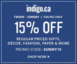 15% off select reg.-priced items with code SUNNY15