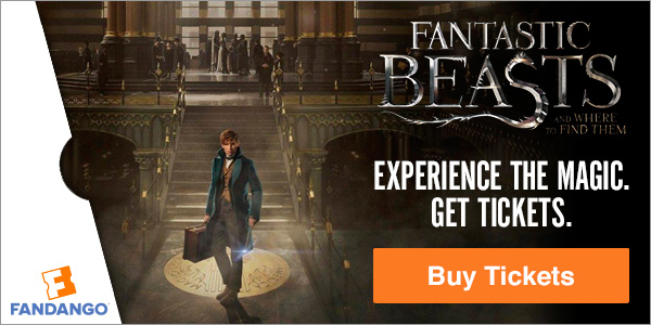 Fandango - Fantastic Beasts and Where to Find Them Tickets