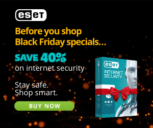 ESET Promo Code 40% Off Black Friday - ESET Antivirus and Internet Security for Mac computers and laptops - Save 40%