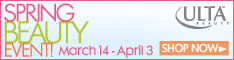 Spring Beauty Event (3/14 - 4/3)