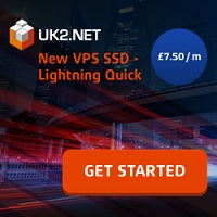 New UK2 SSD VPS from £7.50/m - limited offer