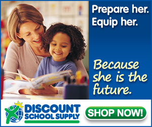Discount School Supply Promo - Prepare Her! Equip Her! Because She Is The Future! Get Free Shipping On Stock Orders Over $99