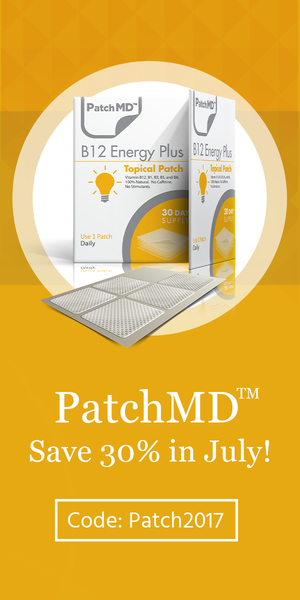 Patch MD B12 Energy Plus Vitamin.  Save 30% this month!