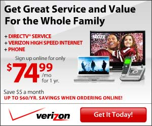 Limited Time Offer on Verizon Bundles!