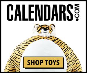 Find Toys on Calendars.com