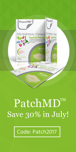 Patch MD Kids MultiVitamin. Save 30% this month!
