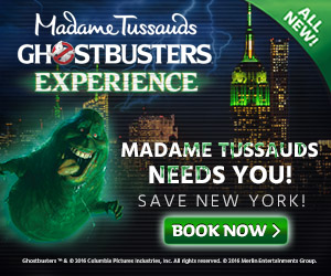 Madame Tussauds New York Ghostbusters