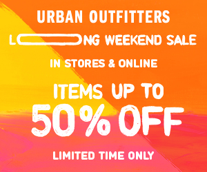 holiday weekend sale