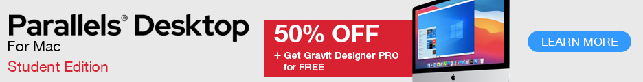 Student Edition at 50% off + Gravit for FREE!