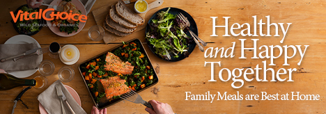SAVE 5% OFF Vital Choice Family Meals + Get Free Shipping On Orders $99+ Using Code: VCAF5 At VitalC