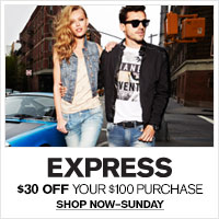 Save $30 off $100 or $60 Off Your $200 Purchase with promo code: 1696